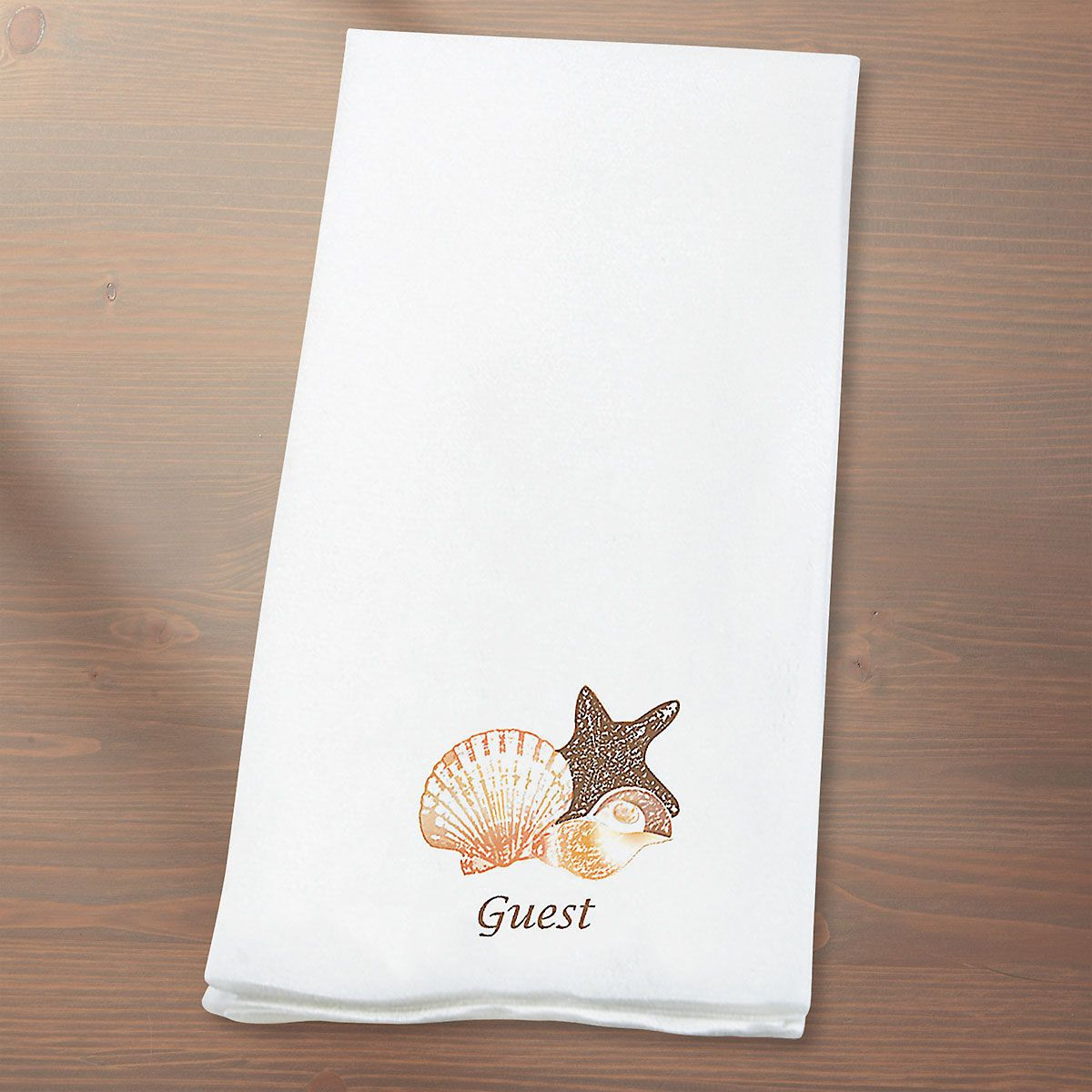 Seashells Hand Towels