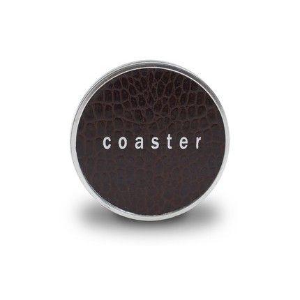 Brown Crocodile Coasters