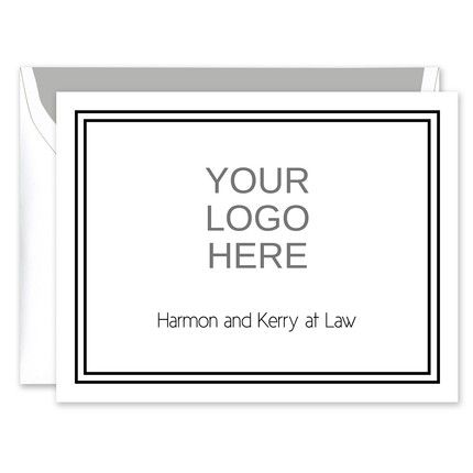 Your Logo Note Card