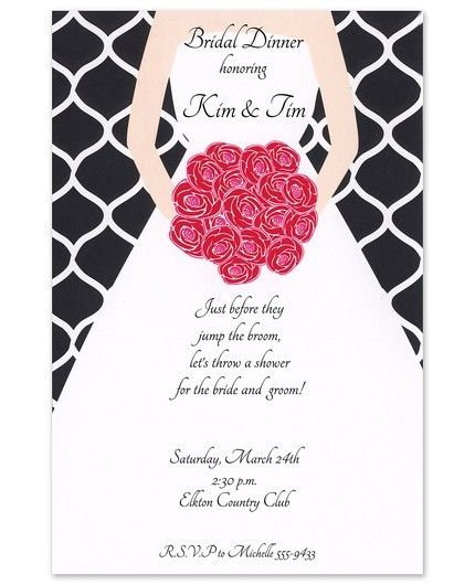 Mod Bride Invitation