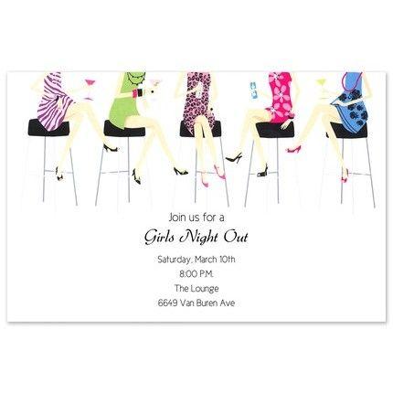 Ladies Night Invitation