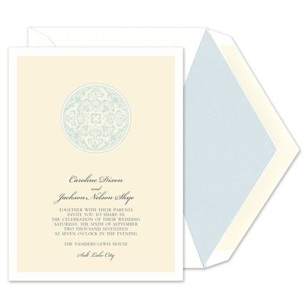 Stained Glass Invitation