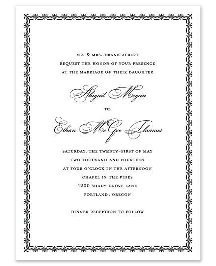 From This Day Invitation