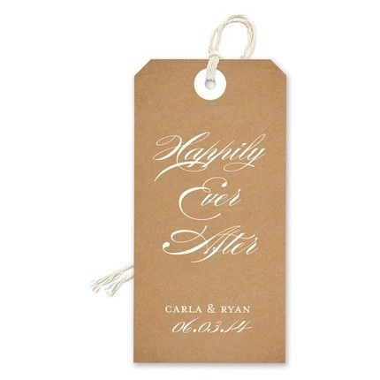 Craft Paper Gift Tag