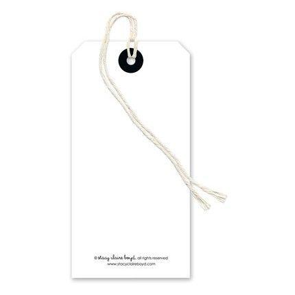 White Gift Tag