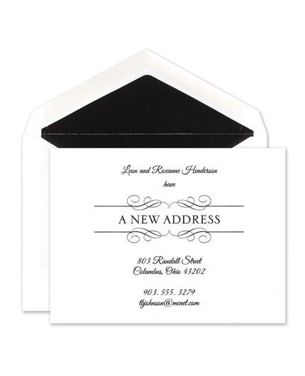 A New Address Announcement