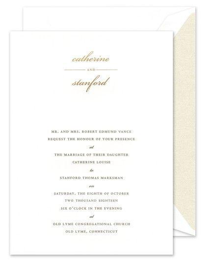 Country Club Invitation