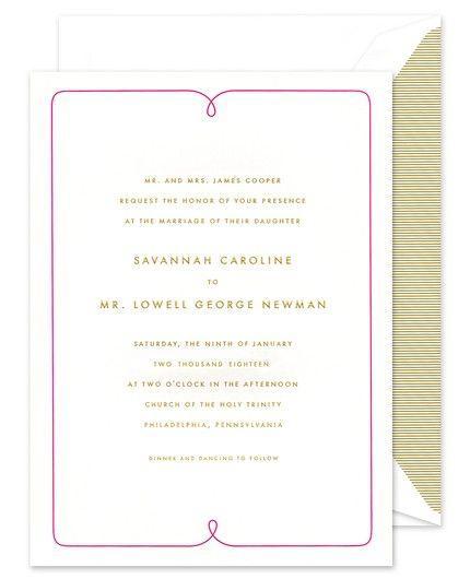 Twilight Invitation