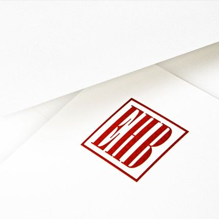 Large White Flat Card