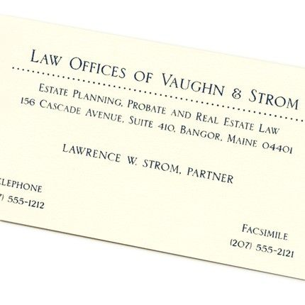 Classic Dots Business Card