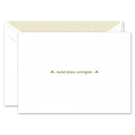 Delicate Fronds Note Card