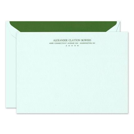 Large Beach Glass Flat Card