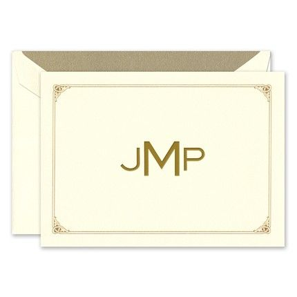 Majestic Frame Note Card