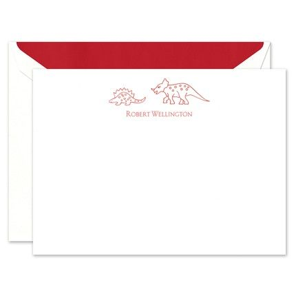 Dinosaur Flat Card