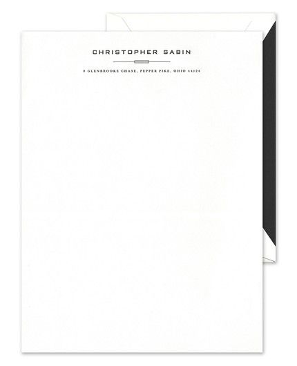 Rectangle Rule Letterhead