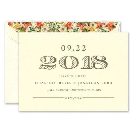 Elegant Ecru Card