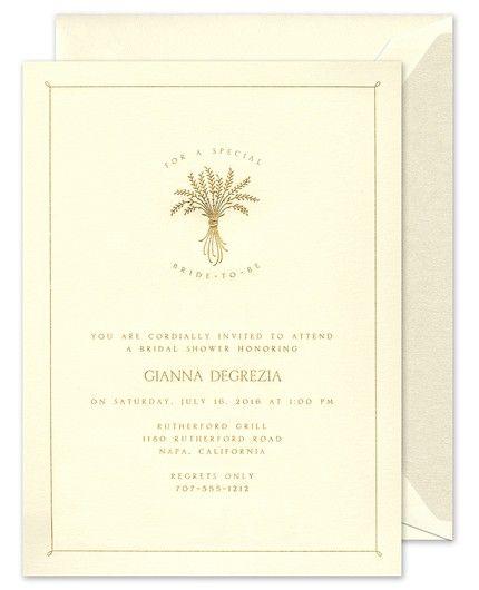 Delicate Frame Invitation