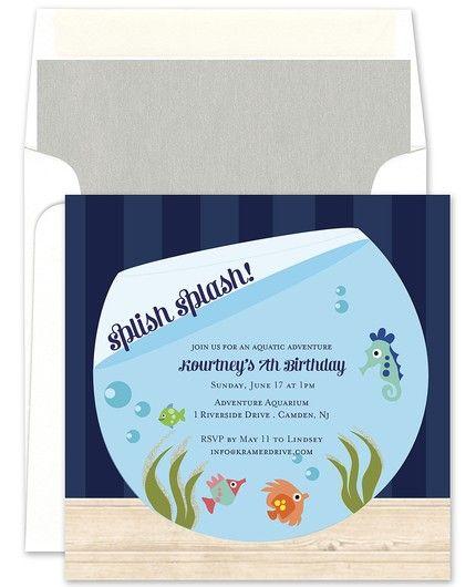 Fish Tank Invitation