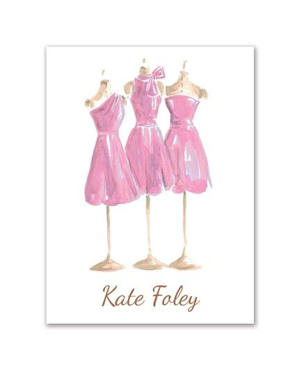 Pretty in Pink Note Card
