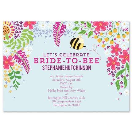 Bride-to-Bee Invitation