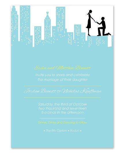 City Celebration Invitation