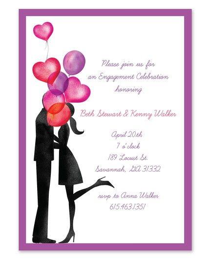 Balloon Love Invitation