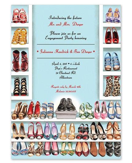 Shoe Closet Invitation
