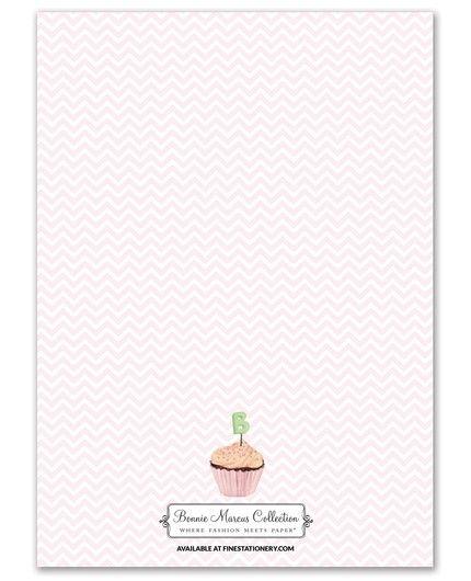 Baby Cupcakes Invitation