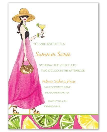 Margarita Anyone Invitation