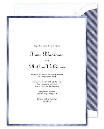 Marine Border Invitation
