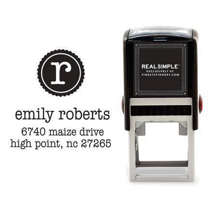Initial Stamp