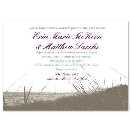 Beach Grass Invitation
