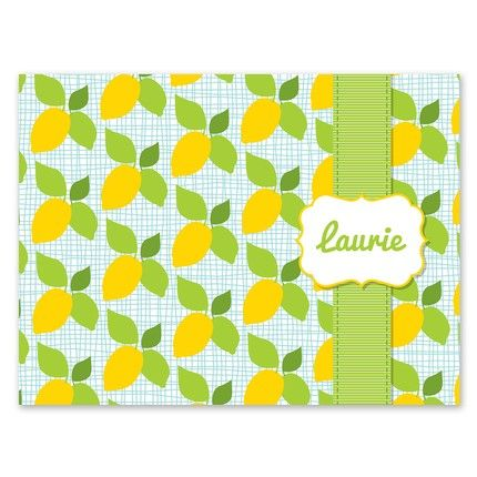 Lemon Note Card