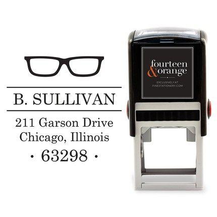 Eyeglass Stamp