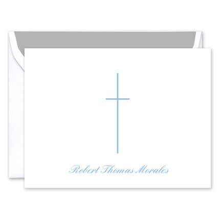 Blue Cross Note Card