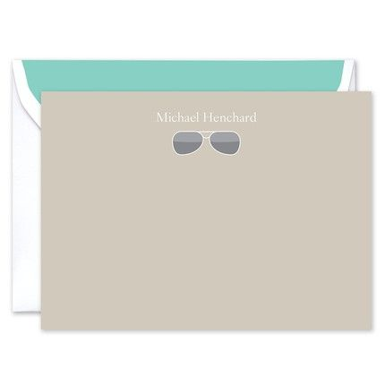 Sunglasses Flat Card