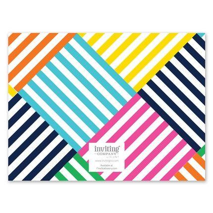 Basketweave Note Card