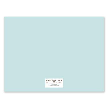 Dahlia Note Card
