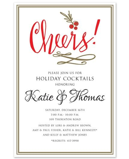 Cheers! Invitation