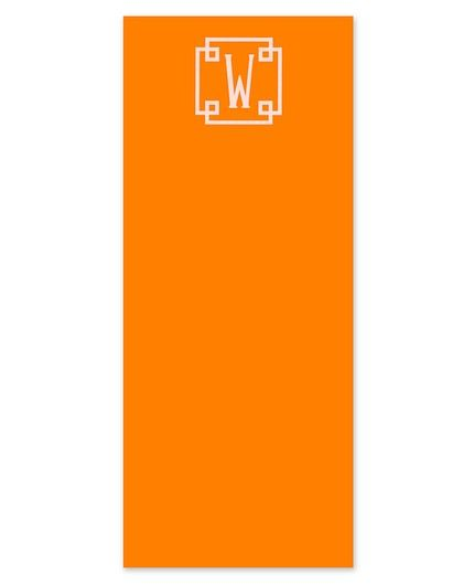 Skinny Orange Crush Note Pad