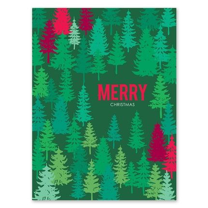 Colorful Tree Greeting Card