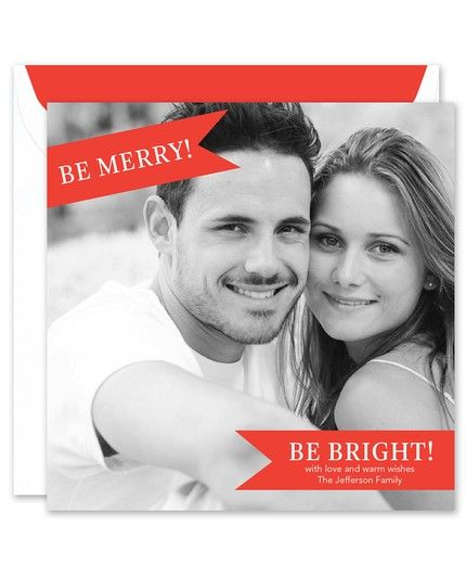 Holiday Banner Photo Card