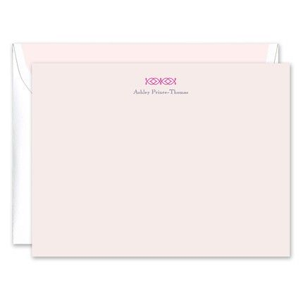 Pink Celtic Flat Card