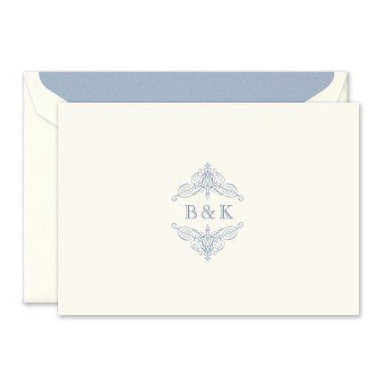 Warm White Note Card