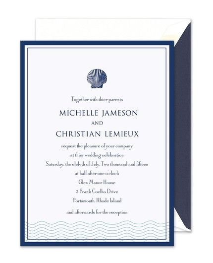 Ocean Invitation