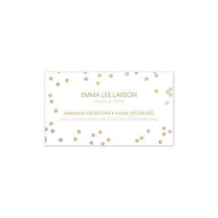 Confetti Business Card