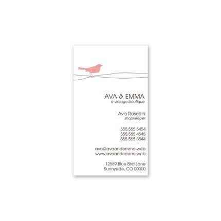 Trendy Bird Business Card