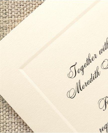 Refined Invitation