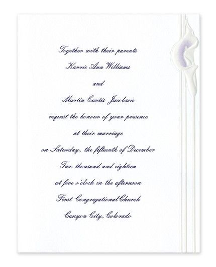 Graceful Invitation