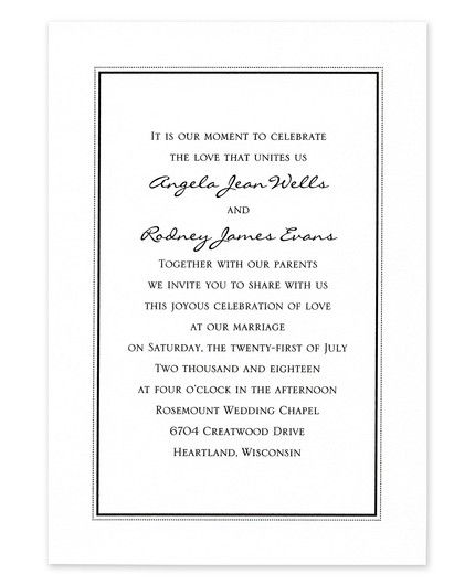 Border Frame Invitation